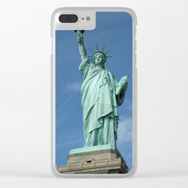 Statue of Liberty - New York City, New York, USA Clear iPhone Case