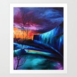 """KTSA"" Painting Art Print"