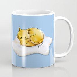 Sunny-side Up Cat Coffee Mug