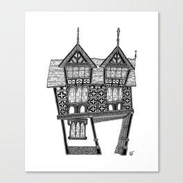 The gateway House Canvas Print