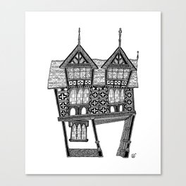 The gateway House Canvas Print