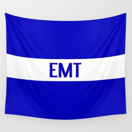 EMT: The Thin White Line Wall Tapestry