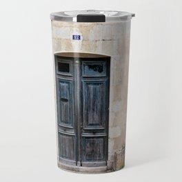 Old fashioned door Travel Mug