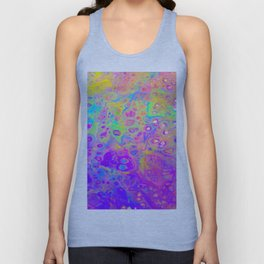 Rainbow Psychedelic Bubbles Unisex Tank Top