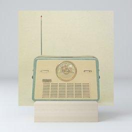 Radio Days Mini Art Print