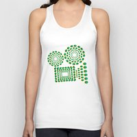 cinema Tank Tops featuring CINEMA by GAS_