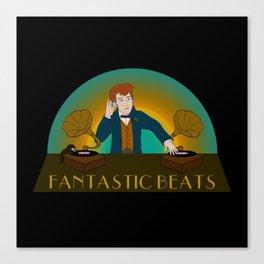 Fantastic Beats Canvas Print