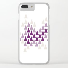 Amethyst Forest by Seasons K Designs Clear iPhone Case