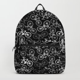 Bicycles in Monochrome Backpack