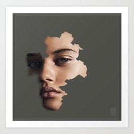 Pangea Art Print