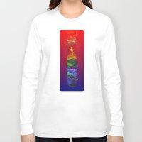 totem Long Sleeve T-shirts featuring Totem by David Lanham