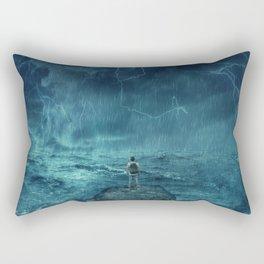 Lost in the ocean Rectangular Pillow