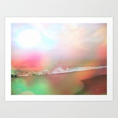 Waves of Imagination Art Print