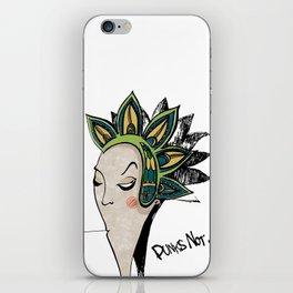 Punk iPhone Skin