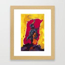 Road Warrior LadyBug Framed Art Print