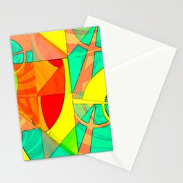Tropical Farm 4 Stationery Cards