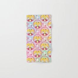 Usagi Tsukino VS Sailor Moon pattern Hand & Bath Towel