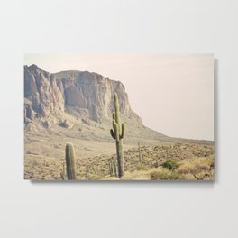 Superstitious Mountain Metal Print