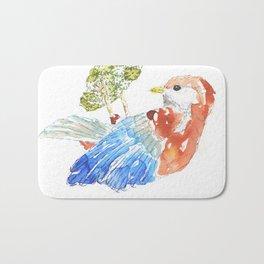 Gustavo: the bird Bath Mat