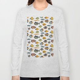 School of Tropical Fish Long Sleeve T-shirt