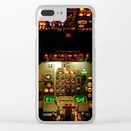737 Flight Deck Clear iPhone Case