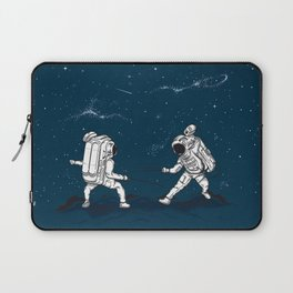 Fencing at a higher Level Laptop Sleeve