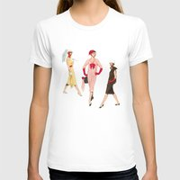 givenchy T-shirts featuring 1950's Girls by Tom Tierney Studios