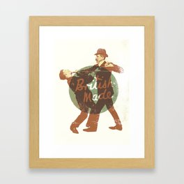 British Made Framed Art Print