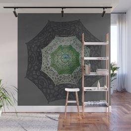 Goth Art Victorian Umbrella Lace Mandala Wall Mural
