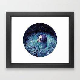 Whirlwind Calm Framed Art Print