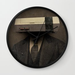 Faces of the Past: Console Wall Clock