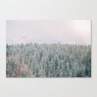 montana Canvas Prints featuring Montana by McKai Morgan