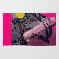 ghostbusters Area & Throw Rugs featuring Ghostbusters 2 by boneface