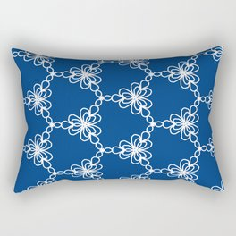 Pattern lace vector Rectangular Pillow