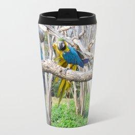 Blue Macaws Travel Mug