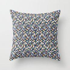 Color Block New Throw Pillow