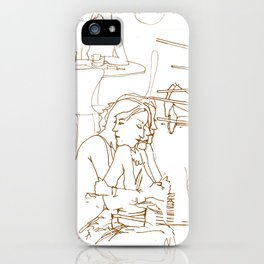 wheres your head iPhone Case