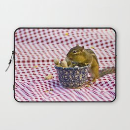 Chipmunk Picnic Laptop Sleeve