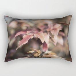 Winter Red Rectangular Pillow