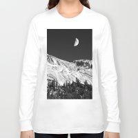 yosemite Long Sleeve T-shirts featuring Yosemite by Claude Gariepy