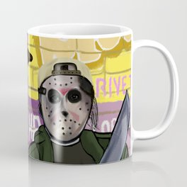 Fred and Silent Jay Coffee Mug