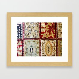 Vintage Carpet 5 Framed Art Print