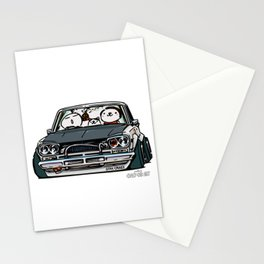 Crazy Car Art 0157 Stationery Cards