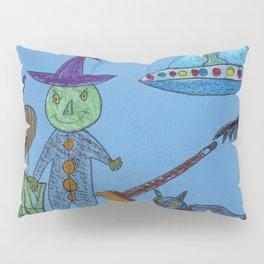 Alien Halloween Pillow Sham