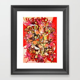 Surviellance by Camera Framed Art Print