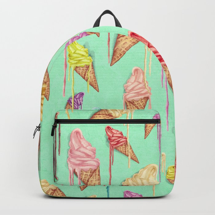 melted ice creams Backpack