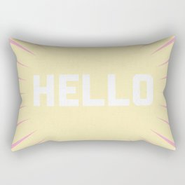 Hello Summer Rectangular Pillow