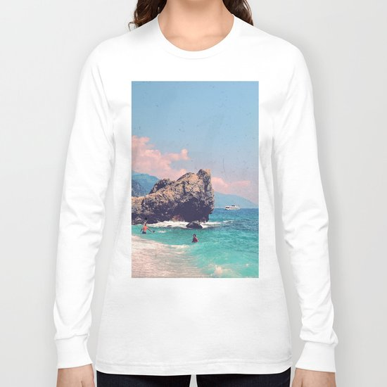 Like An Italian Riviera Postcard Long Sleeve T-shirt