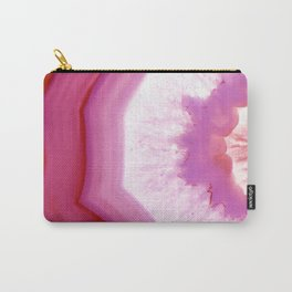 Snow Cone Agate Slice Carry-All Pouch