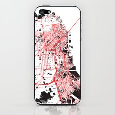 San Francisco Noise Map iPhone & iPod Skin